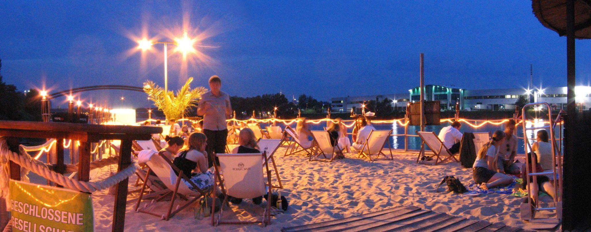 Beach Club Frankfurt Börse