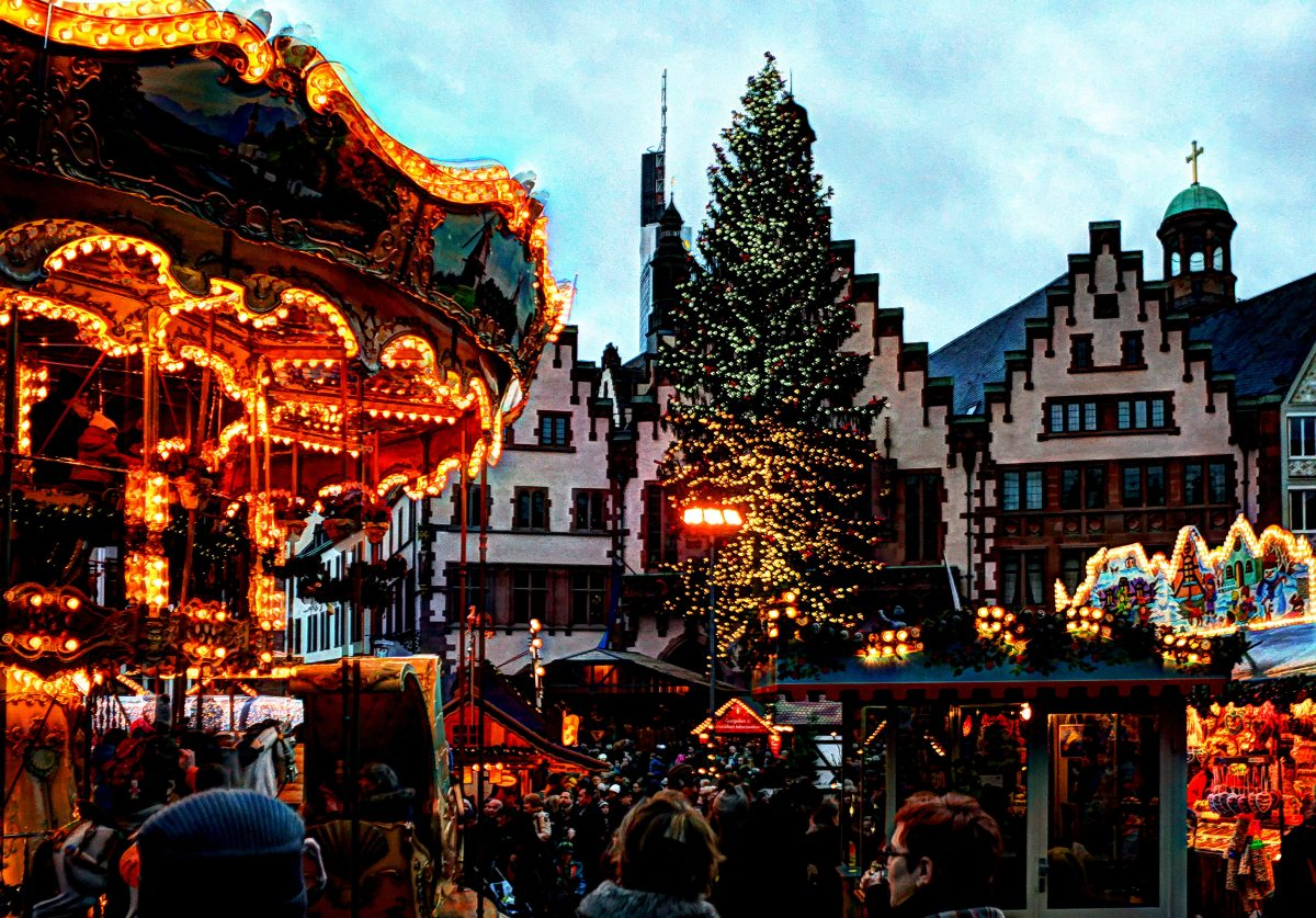 Weihnachtsmarkt Frankfurt Main.Weihnachtsmarkt Frankfurt